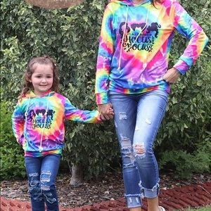 Its All A bunch of Hocus Pocus Tie Dye hoodie